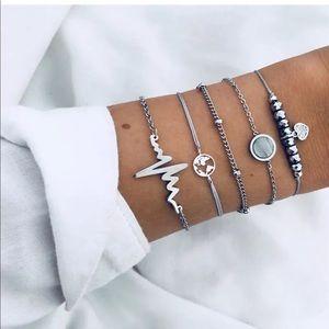 Jewelry - NWT BUY 2 GET 1 FREE SET OF 5 FESTIVAL BRACELETS